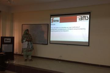 Most efficient researcher Dr Falak Naz1537847284.JPG
